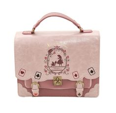 42.74$  Buy now - http://ali39h.worldwells.pw/go.php?t=32788546129 - Japan Bag Lolita Style Women Lady Girls Alice in Wonderland Designer Embroidery Handbag Messenger Bag School Bag