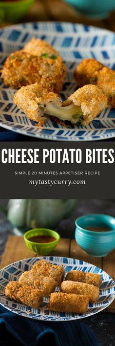 Cheese potato bites