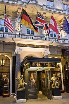 Stay at the world famous Hotel Sacher Wien. Vienna — in Vienna, Austria.
