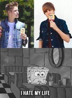justin+bieber+joke+photos   funny pictures justin bieber sponge bob wanna joke.com