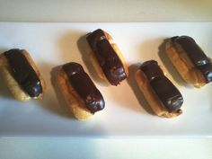 Beauty and the Beast - Chocolate Eclairs