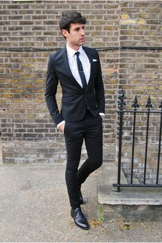 Bar III Black Solid Extra Slim-Fit Suit Separates | Suits