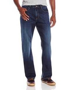 Mens Jeans top rated Wrangler Mens Rugged Wear Classic Fit Jean
