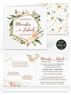 Zaproszenia ślubne RUSTYKALNE KWIATY + KOPERTA 7584587654 - Allegro.pl Let's Get Married, Garden Wedding, Place Cards, Place Card Holders, Invitations, Flowers, Weddings, Floral, Mariage