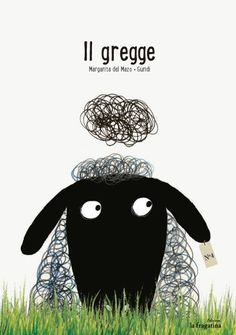 """Essere una pecora è facile, un po' meno vivere in pace nell'ovile se sei una pecora nera! Recensione del libro per bambini """"Il gregge"""""""