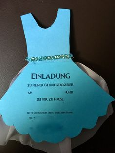 Einladungskarten zum 4. Geburtstag in Anlehnung an Frozen - Elsa - Eiskönigin