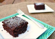 6 minute chocolate vegan cake, oh my!