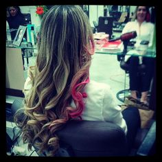 pink hair II
