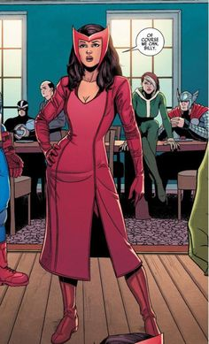 Scarlet Witch (From Young Avengers v2 #2)