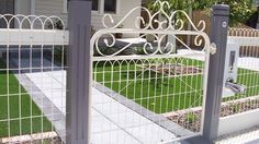 Classy Wooden fence at home depot,Garden fence quote and Front yard fence landscaping. Gabion Fence, Pallet Fence, Fence Stain, Fence Planters, Fencing, Front Yard Fence, Farm Fence, Dog Fence, Horse Fence
