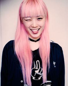 Fernanda Hin Lin Ly: our new favourite pink haired model