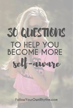 If you are looking to improve your life and become more self-aware, then let these 30 thought-provoking questions guide you to see how you respond to certain life situations, so that you can figure out what works and what doesn't, and make positive changes accordingly. Comes with free downloadable