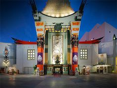 TCL Chinese Theatre on Hollywood Blvd - The most iconic landmark next to the Hollywood sign, where you can see how your hands and feet size up to screen legends like Marilyn Monroe and John Wayne.