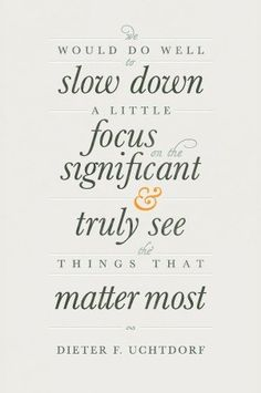 see the things that matter most...