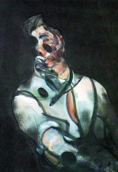 Study for a portrait. Francis Bacon, 1966. oil on canvas.