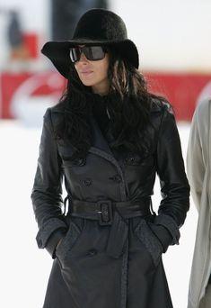 Monica Bellucci in black