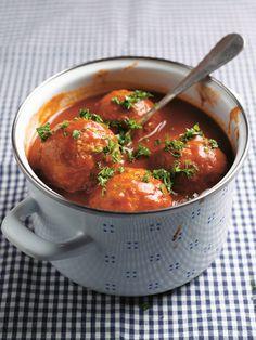 Balletjes in tomatensaus