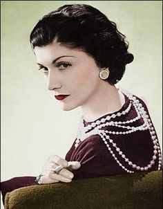One of the first women to wear trousers, cut her hair and toss the corset was Coco Chanel (Gabrielle Bonheur).