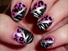 Leopardo + cebra