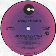 Funk-Disco-Soul-Groove-Rap: Ronnie Dyson - All Over Your Face