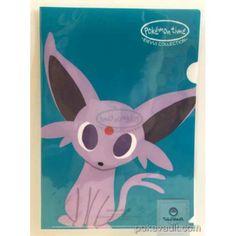 Pokemon Center 2015 Pokemon Time Campaign #8 Espeon A4 Size Clear File Folder