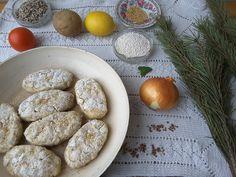 Картофельные палочки с саго и сосновой хвоей