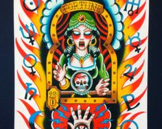 traditional tattoo fortune teller - Google Search
