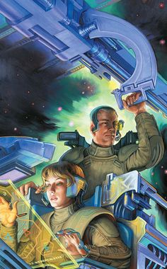 moonzerotwo:  Lt. Leary Commanding - Stephen Hickman