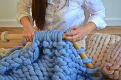 Giant Knitting, Barnsley, Yarn Needle, Pinterest Marketing, Diy Kits, Merino Wool Blanket, Media Marketing, Kitchen Ideas, Blankets