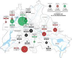 Wo der Senat neue Großsiedlungen in Berlin plant.