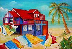 bahamian inspired art