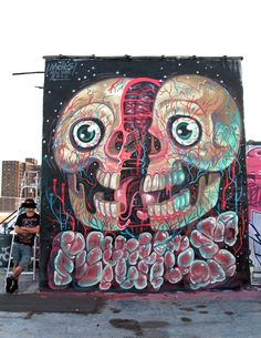nychos #streetart #rexmonkey http://www.rexmonkey.com/street_artists/nychos/