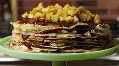 Holly Bell's Bramley apple and cinnamon crepe cake for Bramley Apple Week Crepe Cake, Celebrations, Cinnamon, Pie, Desserts, Summer, Food, Canela, Torte