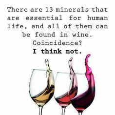 Wine soooo good for ya!