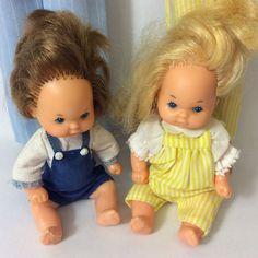 Vintage Mattel 1984 The Heart Family Doll Figures Mum Dad Kids   eBay