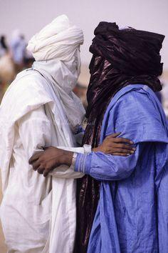 Tuaregs greeting