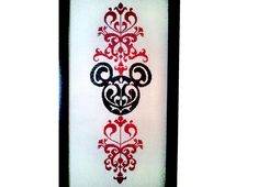 Mickey Mouse Pattern, Cross Stitch Pattern, Disney Cross Stitch, Patterns, Silhouette, Mickey Mouse, Filet Crochet from NewYorkNeedleworks on Etsy SILHOUETTE PATTERN is a great beginner chart! This is a rendition from a photo I took. Colors can be changed to any two contrasting