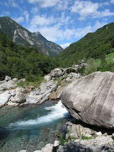 Verzasca Valley Ticino, Switzerland. Scott Bergey