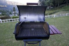 Picture of Portable Barrel BBQ Grill