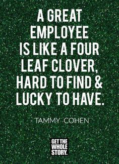 Inspirational Quotes For Staff Appreciation Employee Appreciation Messages, Staff Appreciation, Work Appreciation Quotes, Quotes To Live By, Life Quotes, Team Quotes, Qoutes, Incentives For Employees, St Patricks Day Quotes