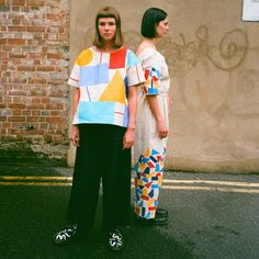 Printed top, customised Dr. Martens, and flocked jumpsuit. Photo taken by @bluelaybourne