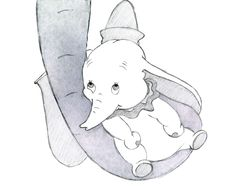 Dumbo. A mother's love