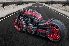 V Road Muscle Harley Davidson 00198 #harleydavidsoncustommotorcyclesvrod