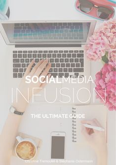 Social Media Infusion - the Ultimate Guide: this 96 page book covers topics like setting up your editorial calendar, your blog as the center of your social media universe, and planning your marketing on Facebook, Twitter, Pinterest & Instagram. Such an awesome book! Creating a content calendar makes blogging sooooooo much easier!