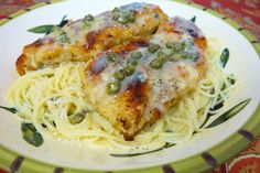 Chicken in Lemon Butter Caper Sauce | Plain Chicken