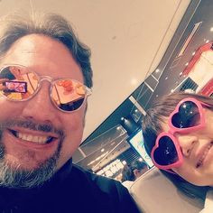 Sillyness insues on #daddydaughter day