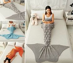 24 Ideas for crochet blanket pattern free afghans mermaid tails Mermaid Blanket Pattern, Crochet Mermaid Blanket, Crochet Mermaid Tail, Mermaid Tail Blanket, Mermaid Tails, Crochet Blanket Patterns, Knitting Patterns, Mermaid Blankets, Crochet Blankets