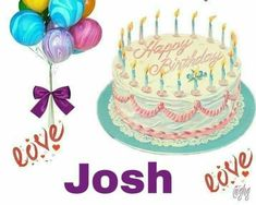Happy Birthday Boy, Birthday Cake, Desserts, Tailgate Desserts, Deserts, Birthday Cakes, Postres, Dessert, Cake Birthday
