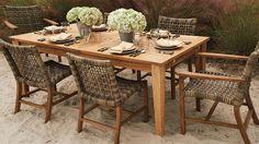 Isola 7-pc. Rectangular Dining Set  -breakfast porch