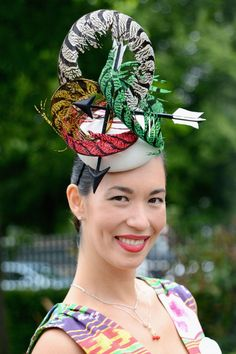 The 37 Craziest Hats From Royal Ascot 2016 bec0563450dd